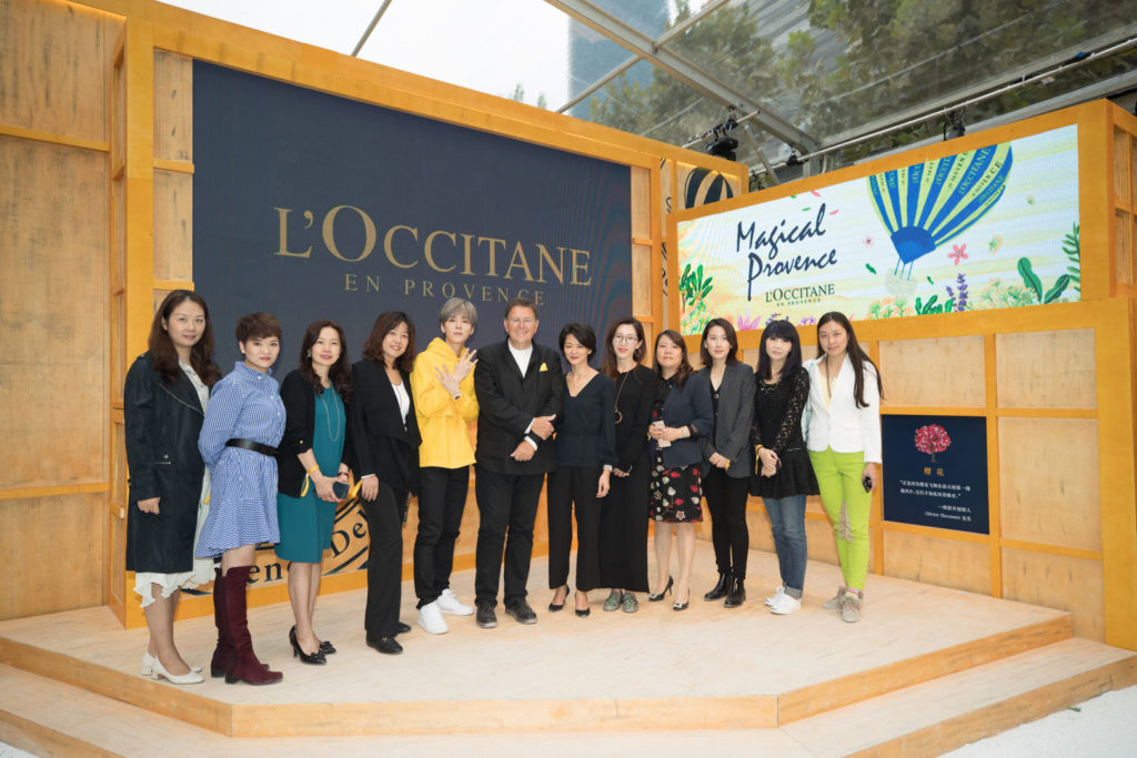 French to Chinese Interpreting for L'OCCITANE - group photo