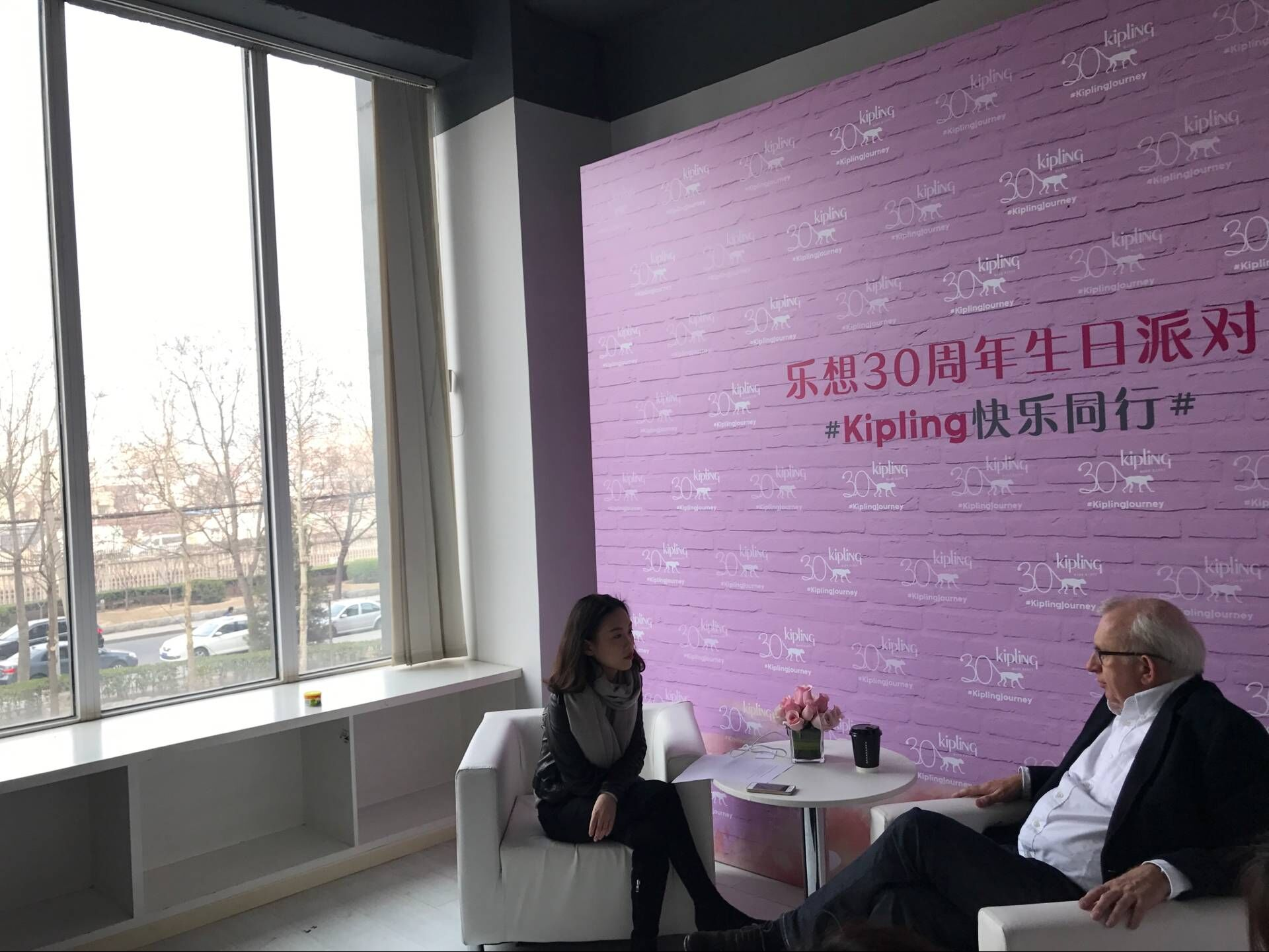 English Chinese Interpreting Service for Interview With Kipling Founder