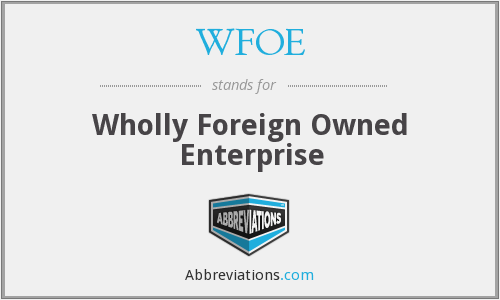 Register a WFOE in China